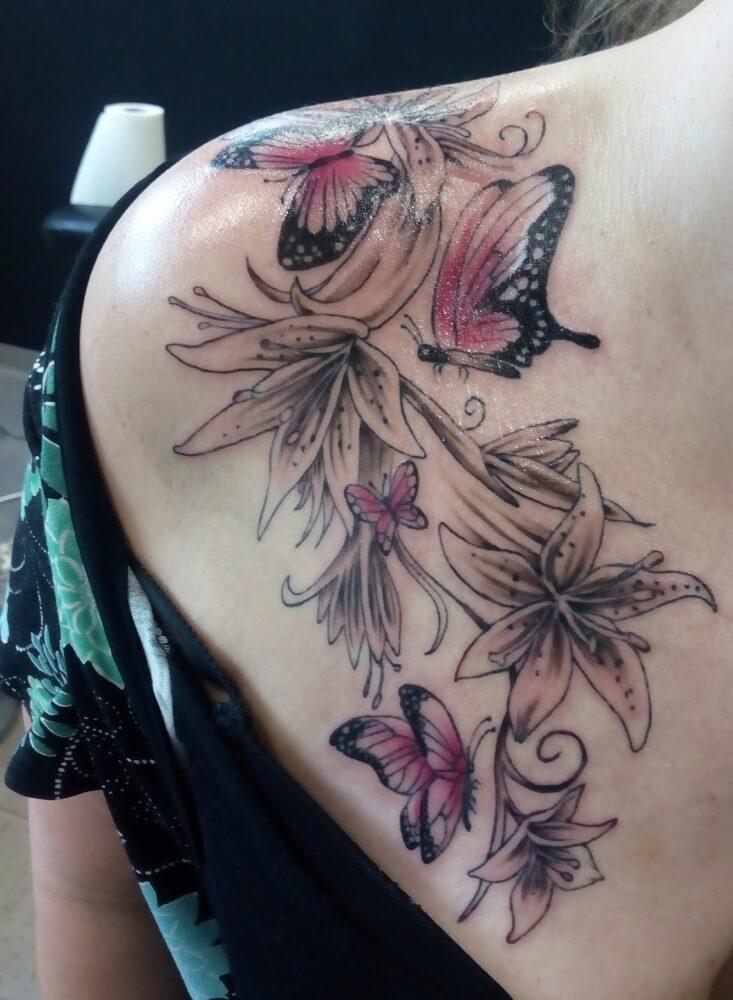 Sisters Tattoo Brno tetovací salon Černovice Nejlepší tetovací salon studio v Brně dotwork newschool abstract skica
